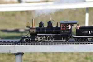 Model train engine.