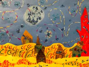 Van Gogh Inspired Starry Night