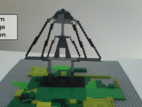 Zakim Bridge – Lego Build